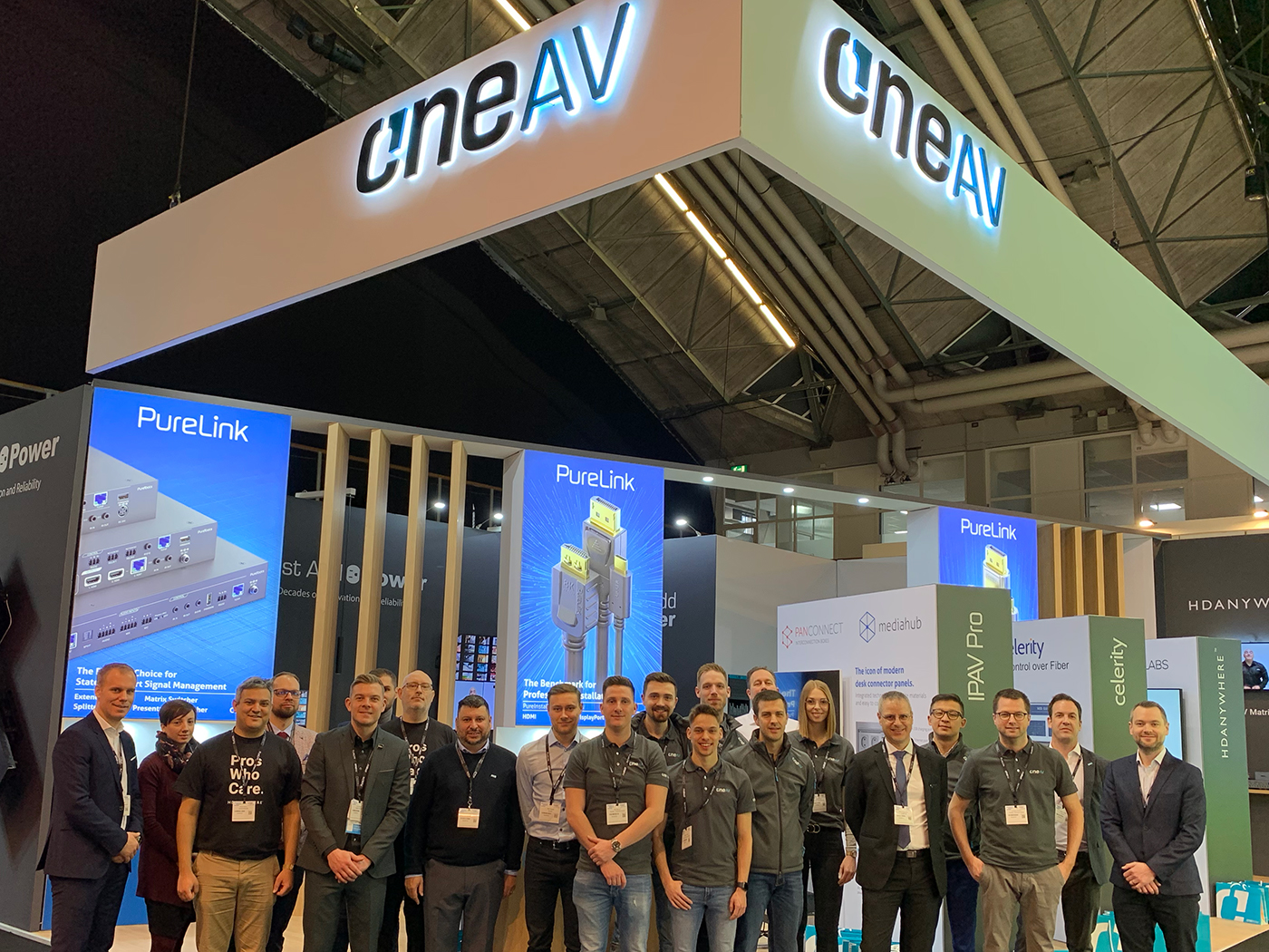 OneAV Stand Hall 1 at ISE in 2020